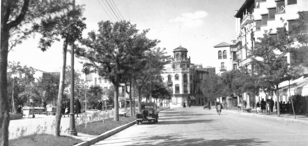 Cuando había sitio para aparcar en Cáceres