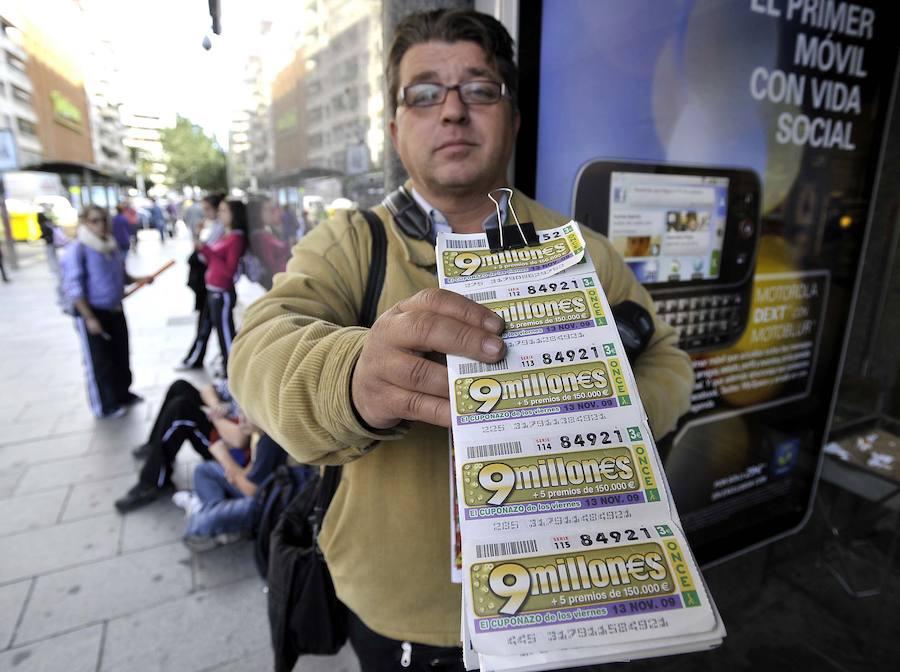 La ONCE reparte 242.000 euros en Badajoz con un boleto del sorteo 'Fin de semana'