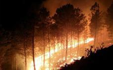 Activado desde hoy el peligro medio de incendios en el norte cacereño