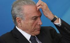 Ordenan liberar al expresidente brasileño Michel Temer