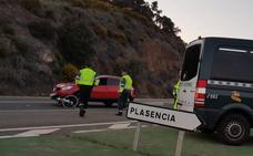 Un ciclista de 62 años resulta herido grave tras ser atropellado en Plasencia