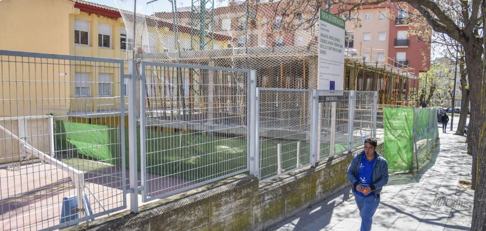 El colegio Luis Vives de Badajoz ya tiene licencia de obras para hacer el comedor