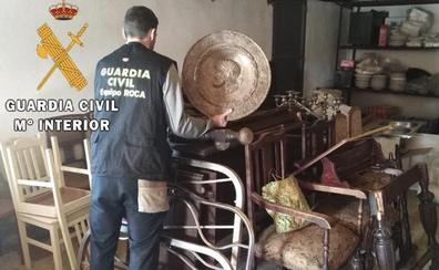 Detenido por siete robos en casas aisladas de Casar de Cáceres
