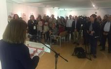 Inaugurada la exposición 'Miajadas en Portada'