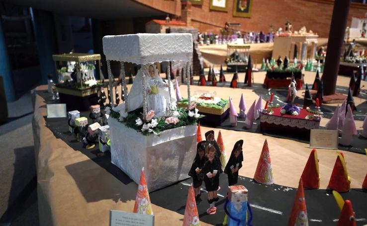La Semana Santa de Mérida en miniatura