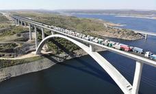 El viaducto del Tajo supera la prueba de carga