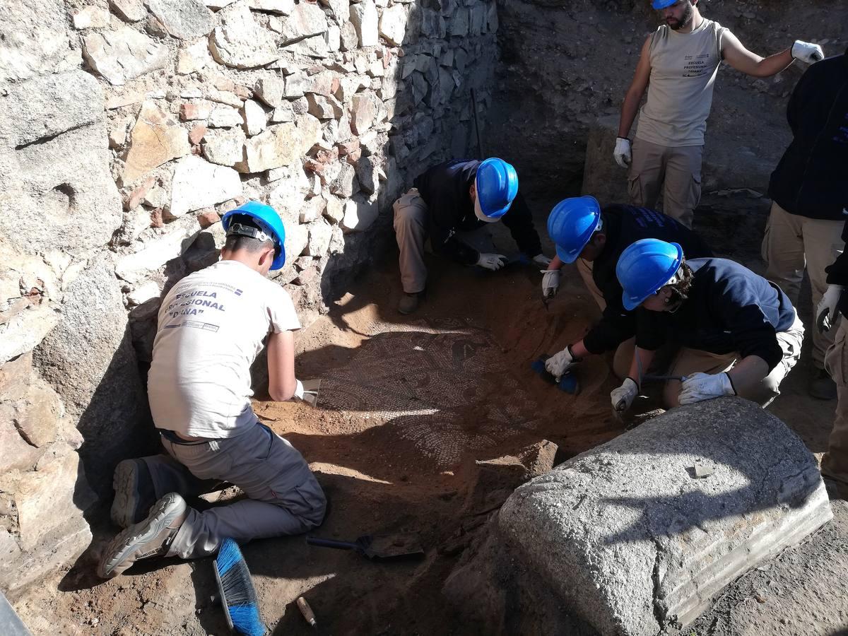 Excavaciones en el paraje Huerta de Otero de Mérida