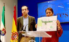 Una banda peatonal de 15 metros en la calle Viena dará continuidad a San Pedro de Alcántara