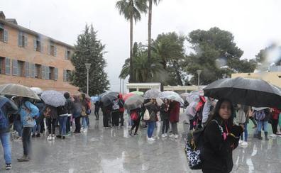 La lluvia regresa hoy a la región tras una sequía de tres semanas