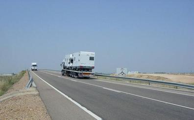 Fomento invierte 1,3 millones de euros para arreglar dos tramos de la N-430 en la provincia de Badajoz