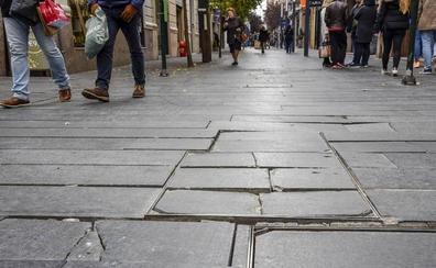 Las obras de mejora de la plataforma única del entorno de Menacho en Badajoz acabarán en julio