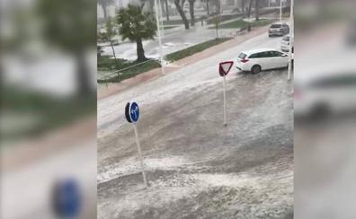 El aviso amarillo por tormentas se extiende a toda Extremadura