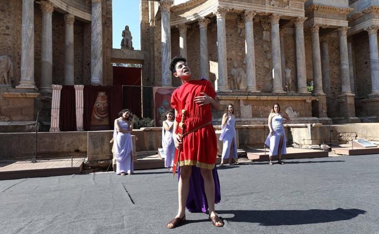 La obra 'Miles Gloriosus' de Plauto en el Teatro Romano