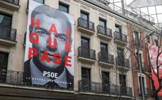 El lema electoral del PSOE 'Haz que pase' se topa con la polémica