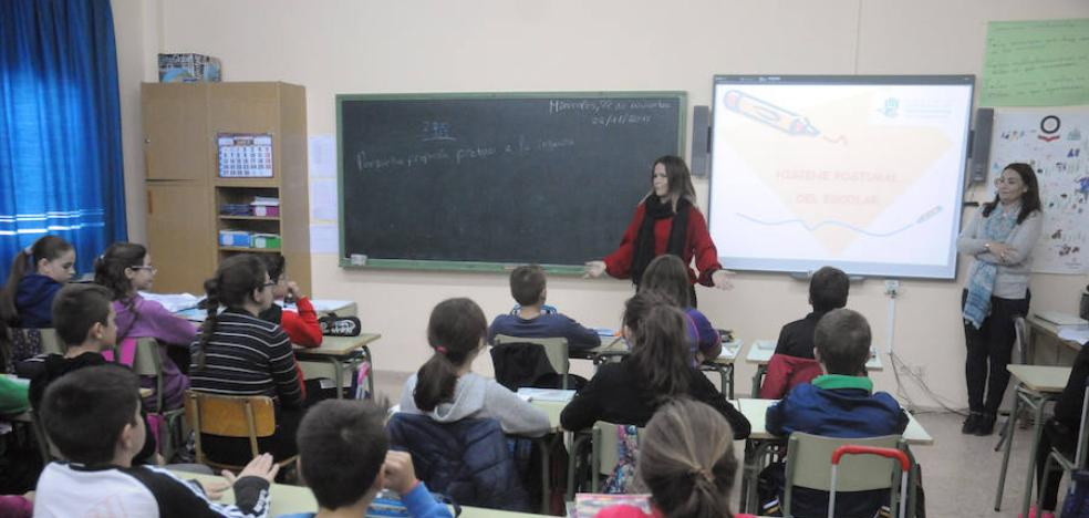 Las aulas pierden 7.400 alumnos en los últimos cinco cursos escolares