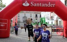 Más de 1.400 mujeres en la 'Carrera de la Mujer #1l2l3 a correr por la Igualdad' de Arroyo de la Luz