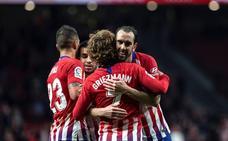 El Atlético no deja de creer antes del Camp Nou