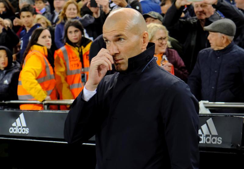 Zidane: «Es una derrota y una derrota siempre duele»