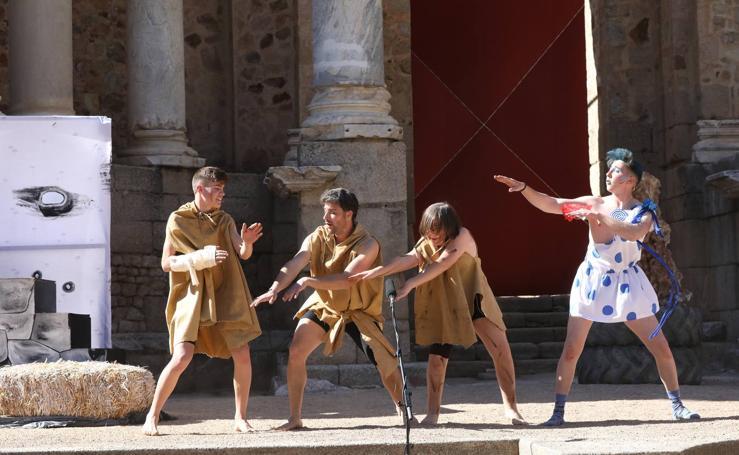 'La Paz' de Aristófanes en el Festival de Teatro Grecolatino de Mérida