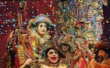 El Palacio de Congresos de Badajoz acoge una actuación de la comparsa 'Los Carnívales', de Antonio Martínez Ares