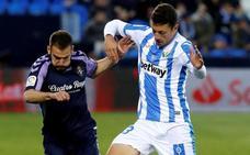 El Leganés derrota al Valladolid en el último suspiro