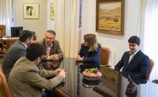 Mar Corbalán ejerce ya como nueva directora de la ONCE en Don Benito