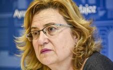 Julia Timón se despide del Consistorio pacense