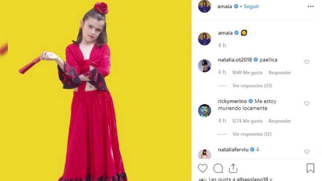 Amaia Romero publica su imagen más divertida en Instagram