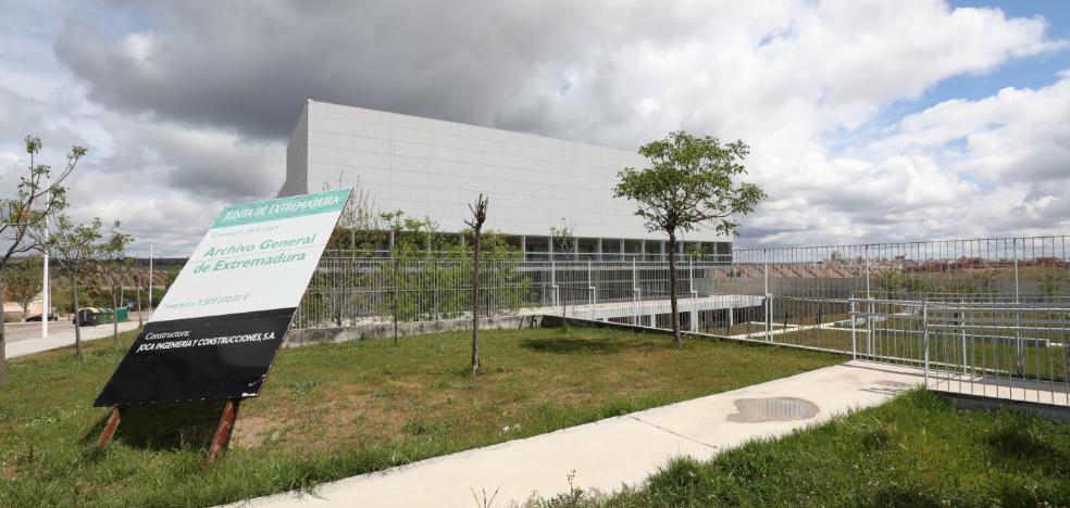 Cultura dedica 565.000 euros a reparar y adecuar un edificio concluido en 2015