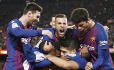 El Barça despeja cualquier conato de duda en la Liga