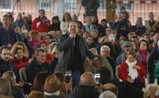 Pablo Iglesias defiende a los «presos políticos» pero evita reclamar un referéndum