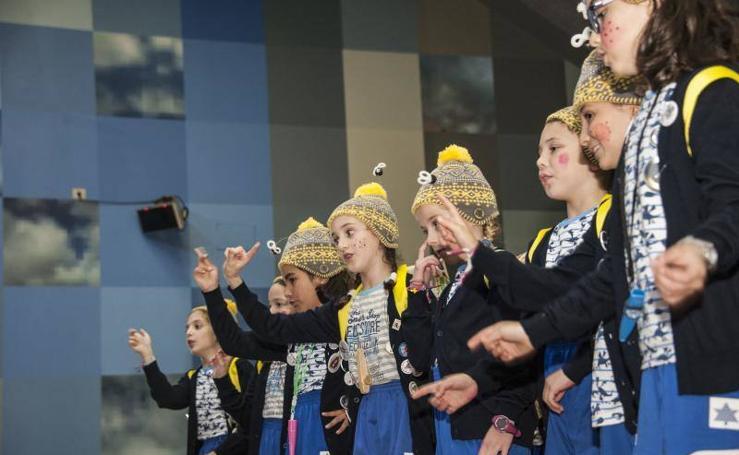 Convivencia carnavalera infantil en Badajoz