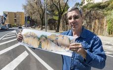 Antonio Blázquez creará un gran mural escultórico en el barrio placentino de Procasa