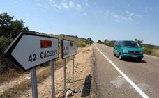 La cesión de la carretera Badajoz-Cáceres al Estado se completará en el plazo de un mes