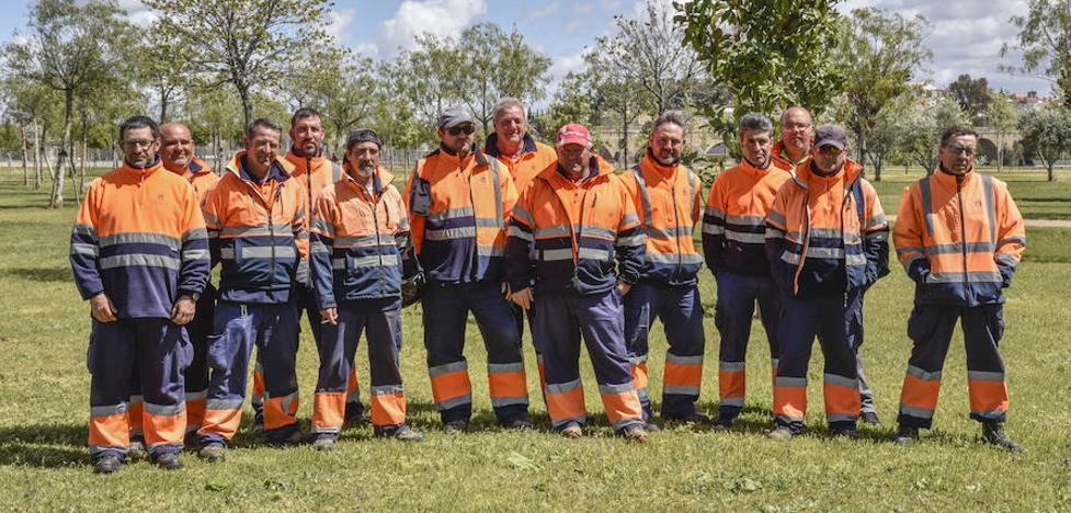 Los trabajadores del parque del río denuncian falta de medios para su mantenimiento