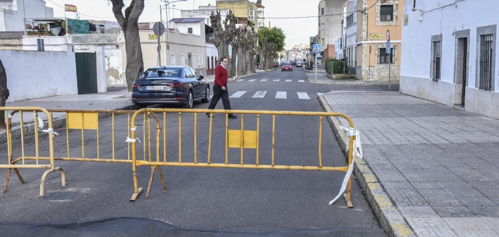 El hundimiento de la calle Porvenir obliga a modificar el recorrido de la Borriquita