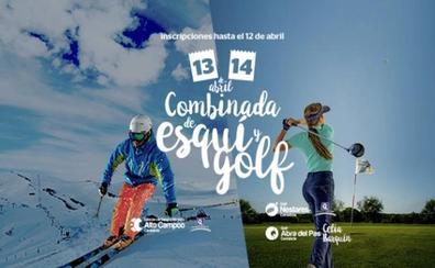 El esquí-golf llega a Alto Campoo