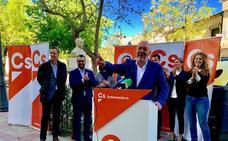 Ciudadanos anuncia un plan de 100 medidas urgentes si Alcántara llega a ser alcalde de Cáceres