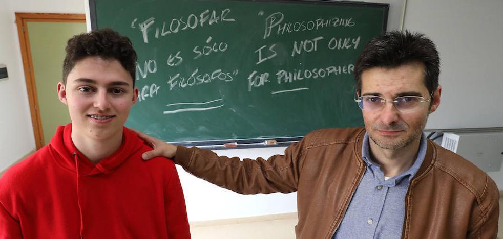 «Todo en la vida es filosofía»