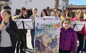 La música sale a la calle en La Haba de la mano de los escolares de la localidad