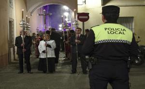 Un bando detalla las calles de Badajoz en las que no se podrá aparcar por las procesiones
