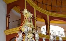 El Cerro de Reyes de Badajoz sale hoy en procesión con su Virgen