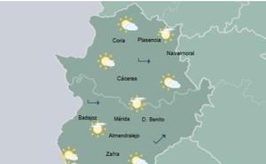 Domingo de Ramos con máximas de hasta 27 grados en Extremadura
