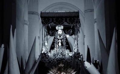 La Procesión de las Mujeres abrió ayer los desfiles de la Semana Santa de Villafranca