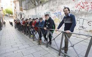 Arte contra vandalismo en el 'Padu' de Cáceres