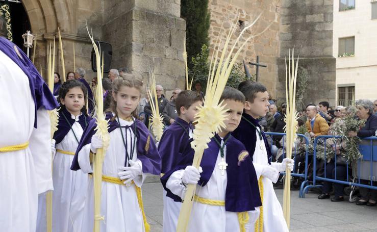 Domingo de Ramos en Cáceres
