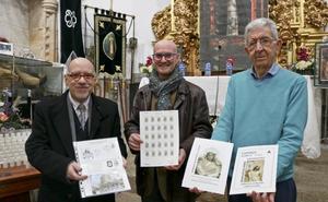 Un sello y una postal para la cofradía cacereña de la Soledad por su 550 aniversario