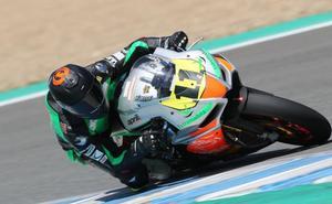 Barragán, octavo en el Circuito de Jerez