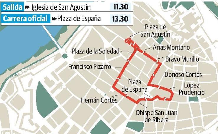 Domingo Santo en Badajoz: Encuentro del Resucitado con María Santísima de la Aurora