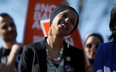 Un tuit de Trump dispara las amenazas de muerte contra una congresista musulmana